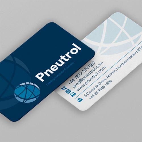 Business cards devine design antrim pvc plastic cards reheart Choice Image