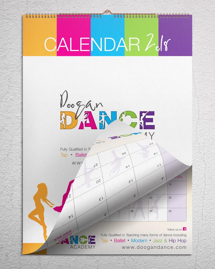 a3 hanging wall calendar devine design antrim